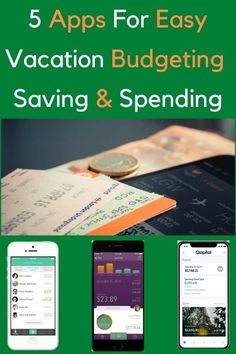 5 apps to help you plan and track your vacation budget, manage your spending and share expenses with fellow travelers. #money #spending #saving #budget #vacation #apps #help Travel Money, Budget Travel, Printable Packing List, Financial Information, Disney World Trip, Travel And Leisure, Travel Advice, Family Travel, Traveling By Yourself