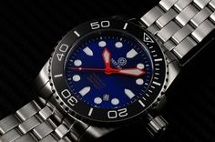 "Deep Blue ""Sea Ram"" Automatic 500m. Great looking affordable diver's watch. $500"