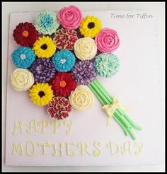 Mothers day cupcake bouquet  - Cake by Time for Tiffin