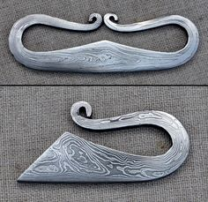 damascus strikers, perhaps just acid etched but still awesome