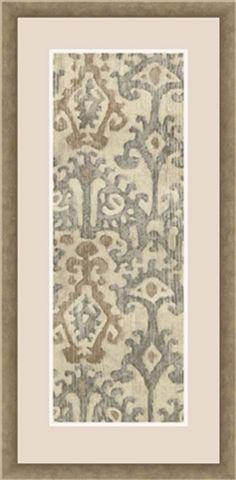 Surya Linen Ikat Wall Décor [LJ4215-2143]