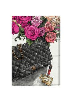 Lady Faves  #ideel OLIVER GAL Fashionistas Favorites Canvas Art