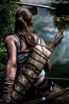 Lara Croft - Tomb Raider by ~Paper-Cube on deviantART