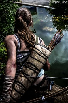 Lara Croft - Tomb Raider by ~Paper-Cube on deviantART