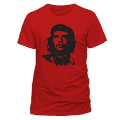 Che Guevara - Red Face T-shirt Red Ex Ex Large ... (Barcode EAN=5054015075558) http://www.MightGet.com/march-2017-1/che-guevara--red-face-t-shirt-red-ex-ex-large.asp