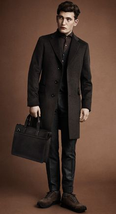 Oscar Jacobson Winter 2017, Fall Winter, Autumn, Aw 2017, Cashmere Coat, Dapper, Suit Jacket, Mens Fashion, My Style