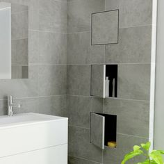 Mobile pensile per bagno T-BOX Easy Sanitary Solutions