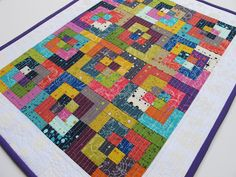 Modern Cozy: Mini Quilt Monday :: Alison Glass Fractured Mini