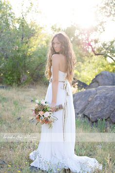 bohemian wedding & bohemian wedding dress & Pocahontas wedding inspiration