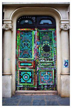Arte porta Parigi porta fotografia arte di di SonjaCaldwell