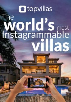 In today's world of dream holiday images, Instagram has become the place where many find inspiration for our next adventure. This guide will help you discover the world's most Instagrammable villas.