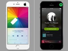 Spotify music vs. Apple Music