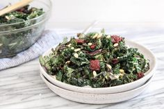 Kale is a powerful anti-inflammatory food, but can be tough to chew and bitter. My massaged kale salad makes it delicious and easy to eat.