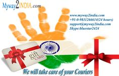 #Myway2India Fastest Courier Services in India.. More info: www.Myway2india.com Ph:098112 66614 Skype call:bluestar2424
