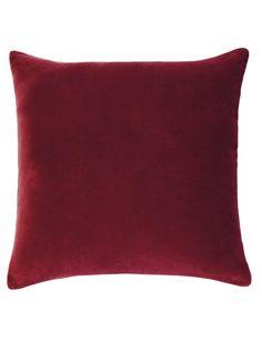 Designers Choice Lewis European Pillowcase, Red product photo