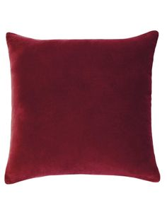 Designers Choice Lewis European Pillowcase, Red product photo