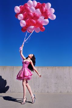 You are my inspiration! Rising like a pink balloon or should I say rising like pink balloons!