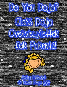 Very thorough Class Dojo Overview/Letter for Parents by Kinder Peeps!