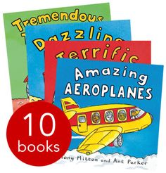Amazing Machines Collection - 10 books - Paperback - 9781447238744 - Tony Mitton and Ant Parker