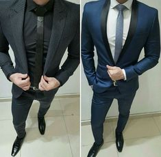 ♛ Black Or Blue ? . . . . . .   #style #pin #Mensfashion #outfit  #guyfashion  #menstyle #FashionInspiration #Menswear #Lifestyle #Inspiration #Men #Fashion #Clothes #menssuits  #Casual #Clothing #Wearing  #Gentlemen #Guy #SmartCasual
