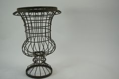 Topiary Frame Urn Shaped Planter Metal Structure by meghandrago