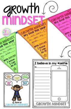 Do your students have a growth mindset or a fixed mindset? Here are some engaging activities for elementary kids. These lessons are designed as a way to foster a Growth Mindset culture in your classroom with your students. Also Included are bulletin board