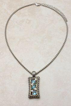 Aquamarine Everly Necklace