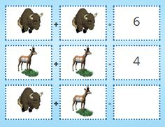 Math game with animals
