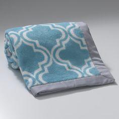 Lambs & Ivy Ryan Geo Fleece Blanket | AllModern