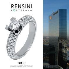 #ring #jewels #Rensini #Rotterdam Collectie Modern BB30