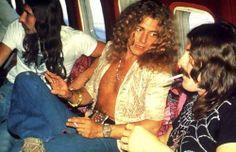 Robert Plant, John Bonham, at Starship 1973