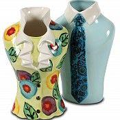 Shirt  Tile vase and Blouse vase