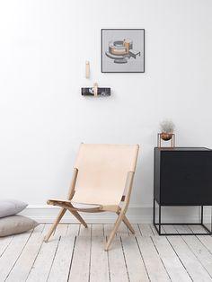 By Lassen // Saxe Chair, designet av Mogens Lassen i 1955
