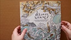 Dreamweaver Colouring Book by Olivia Whitworth Flipthrough