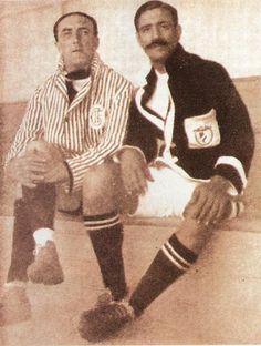 28 de março de 1926: Cosme Damião faz o seu último jogo como treinador do SLBenfica-2/VitóriaVFC-2.