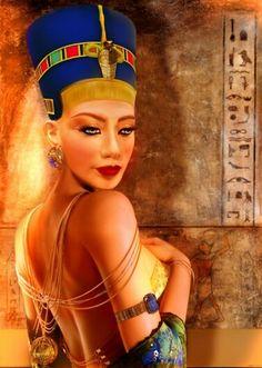 Nubian Queen Nefertiti