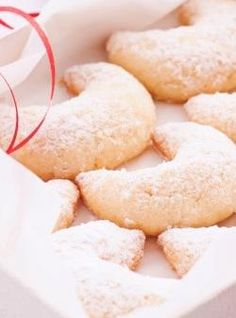 Vanillekipferl have always been a favorite Christmas cookie of Austrians.Here is one Austrian grandmother's recipe, which is easy to make and really delicious. (They also make a great holiday present for friends and family.  We're just sayin'...)