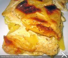 Empfehlung Ra... http://www.chefkoch.de/rezepte/1191681225014457/Kartoffelgratin-Ruckzuck.html