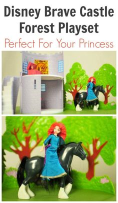 Disney Brave Castle Forest Playset Is Perfect For Your Princess