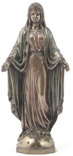 Lady of Grace, Mary Mother of God Statue Statuary Sculpture Figurine Catholic Gifts-Home Décor-Decorations for Sale at AllSculptures.com