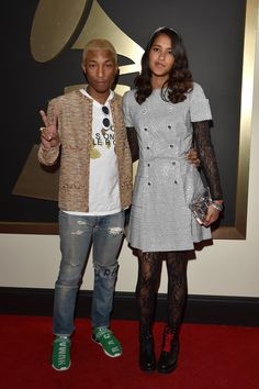 Vélez for Leather Lovers | Pharrel Williams and Helen Lasichanh | Premios Grammy 2016
