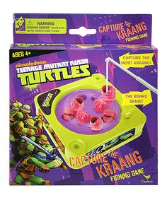 This diy kids fishing game provides hours of fun and makes a great look at this tmnt mini fishing game on zulily today solutioingenieria Gallery