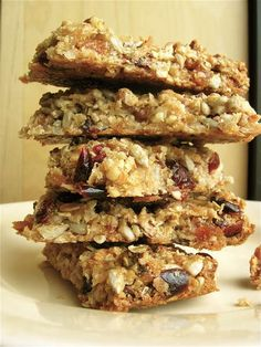 Take a hike, store-bought - Flourish - King Arthur Flour Chewy Granola Bars, Homemade Granola Bars, Breakfast Bars, Breakfast Cookies, Healthy Cooking, Healthy Snacks, King Arthur Flour, Baking Flour, Favorite Recipes