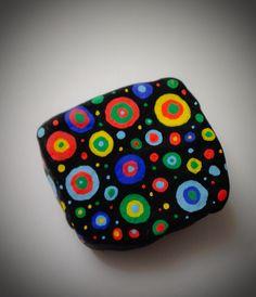 Rock painting - Galaxy Painted Rocks Kids, Painted Pebbles, Painted Stones, Hand Painted, Pebble Painting, Pebble Art, Stone Painting, Rock Painting, Rock News