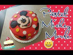 Decorar Pastel Mickey Mouse con Fondant - YouTube