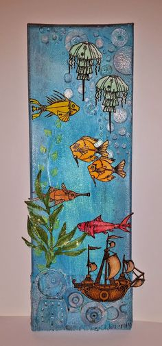 Chocolate Baroque Design Team: An Under the Sea Canvas (by Debbie)