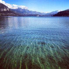 Aprem #run parfaite sur les bords du lac d'#Annecy