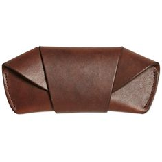 Tanner Goods Handmade Leather Sunglasses Case