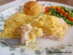 Comforting Cheesy Chicken and Rice | Winner winner chicken dinner!