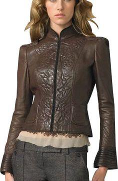 Gelina Leather Jacket